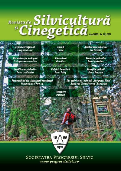 Revista de Silvicultură şi Cinegetică, nr. 32/2012