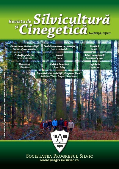 Revista de Silvicultură şi Cinegetică, nr. 33/2012