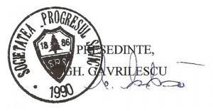 Presedinte, Gh. Gavrilescu